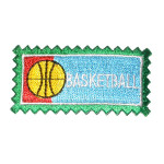 Iron On Patch Applique - Basketball Patch