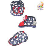 Iron On Patch Applique - Shoe Cap  or Backpack Calico