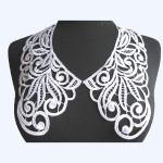 Collar Appliques Venise L & R WHITE..