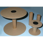"""Spools - Pack of 10 - 4 sizes with 4"""" End"""