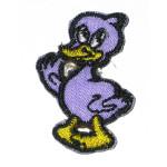 Iron On Patch Applique - Duck Purple