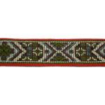 "Jacquard Ribbon 1 1/8"" Tapestry Style 36 Yard Roll"