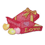 Iron On Patch Applique Valentines Love Box