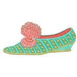Iron On Patch Applique Fancy Shoe