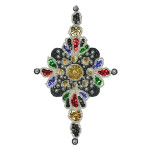Sequin Applique - Large Mardi Gras Star