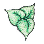 Iron On Patch Applique - Ivy Leaves