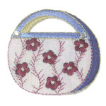 Iron On Patch Applique - Cosmetic Purse