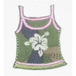 Iron On Patch Applique - Cammo Beach Top