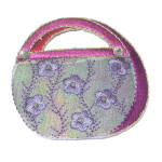 Iron On Patch Applique - Cosmetic Purse 9394