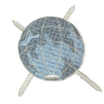 Iron On Patch Applique - Planet Earth
