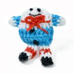 Crochet Applique - Humpty Dumpty