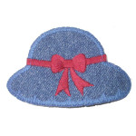 Iron On Patch Applique - Sunhat with Bow