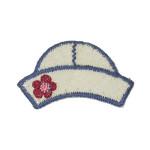 Iron On Patch Applique - Kids Sailor Hat