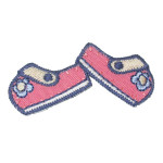 Iron On Patch Applique - Pair of Shoes