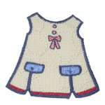 Iron On Patch Applique - Kids Dress