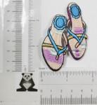 Iron On Patch Applique - Flip Flops