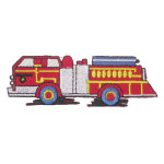 Iron On Patch Applique - Fire Truck