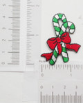 Iron On Patch Applique- Candy Canes