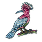 Iron On Patch Applique - Crested Bird
