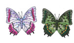 """Iron On Patch Applique - Sequinned Butterfly 3""""  *Colors*"""