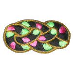 Iron On Patch Applique - Decorative Calypso Knot