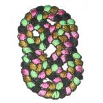 Iron On Patch Applique - Decorative Calypso Knot.