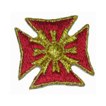 Iron On Patch Applique - Maltese Cross