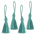"Tassels 2"" Drop (50mm)  with Loop *Colors* 4 Pack"