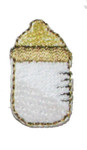 Iron On Patch Applique - Baby Bottle Small