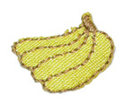 Iron On Patch Applique - Bunch of Bananas Mini