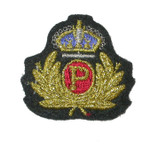 Iron On Applique - Uniform Crest P