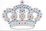 Rhinestud Applique - Crown