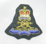 Iron On Patch Applique - Crest Crown & Cannon