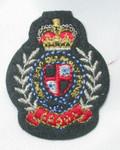 Iron On Patch Applique - Crest Crown