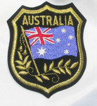 Iron On Patch Applique - AUSTRALIA Flag Crest