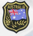 Iron On Patch Applique - AUSTRALIA Flag Crest