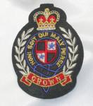 Iron On Patch Applique - Crown Crest