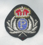 Iron On Patch Applique - Crest Police