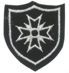 Iron On Patch Applique - Crest Maltese Cross