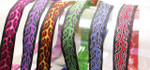 "Jacquard Ribbon 5/8"" (16mm) Flame Design *Colors*"