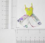 Iron On Patch Applique - Ballet Tutu Yellow