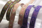 "Jacquard Ribbon 3/4"" (19mm) Renaissance Style *Colors* Per Yard"