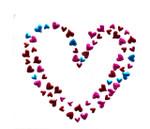Rhinestud Applique - Heart of Hearts