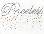 "Rhinestud Applique - ""Priceless"""