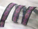 "Jacquard Ribbon 7/8"" (22Mmm)  Persian Band Priced Per Yard"