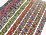 "Jacquard Ribbon 1"" (25mm) Fancy Fleur De Lys *Colors* Priced Per Yard"