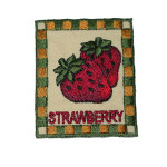 Iron On Patch Applique - Strawberry Patch