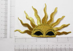 Iron On Patch Applique - Large Rising Sun