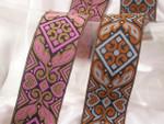 "Jacquard Ribbon 1 9/16"" (39mm) Cholas *Colors* Per Yard"