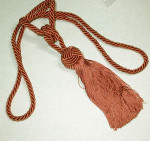 Cinnamon Fancy Curtain Tie Back Tassel